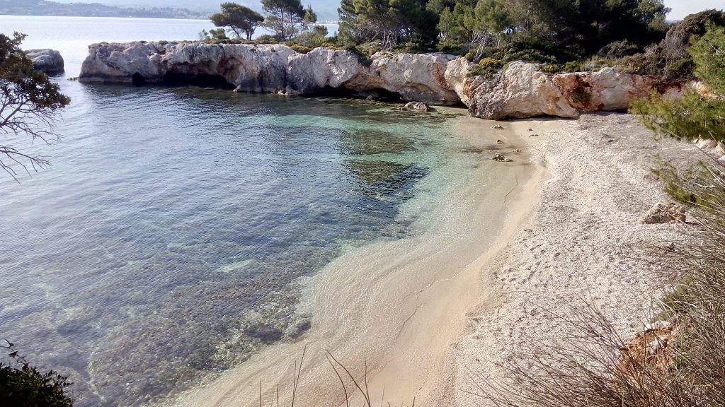 Beach near Fanari