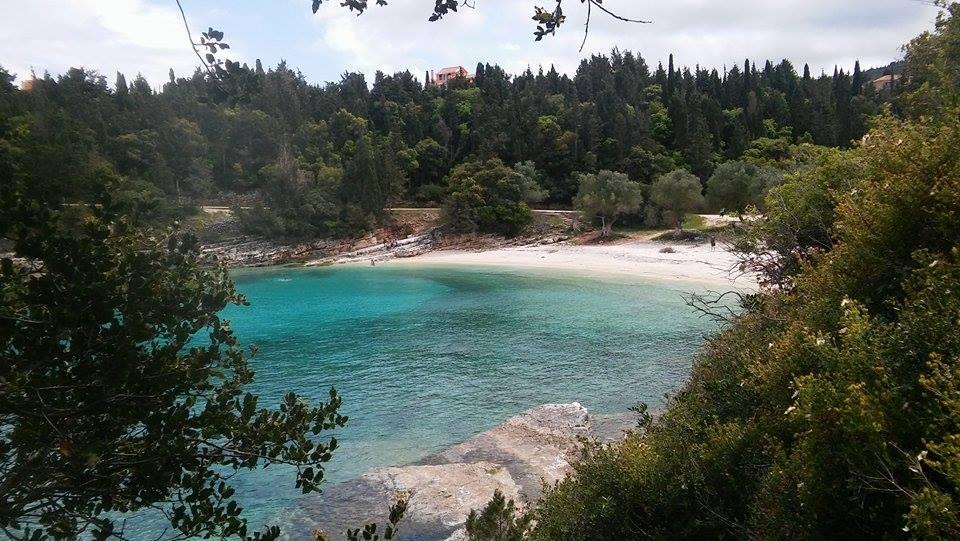 Emblissi beach near Fiskardo