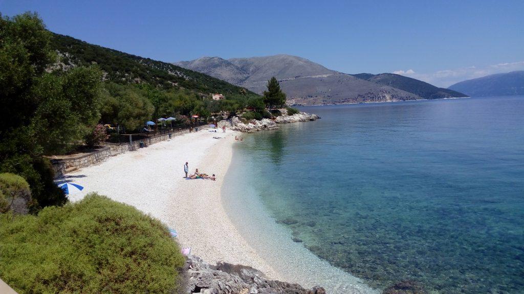 Agia Paraskevi beach near Agia Efimia