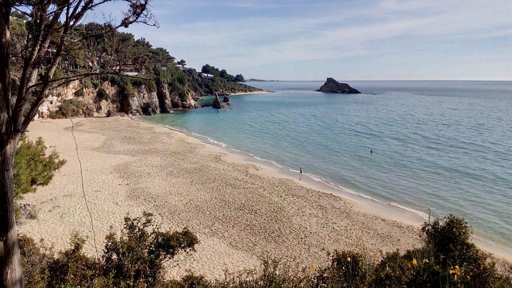 Platis Gialos beach in Lassi, Kefalonia