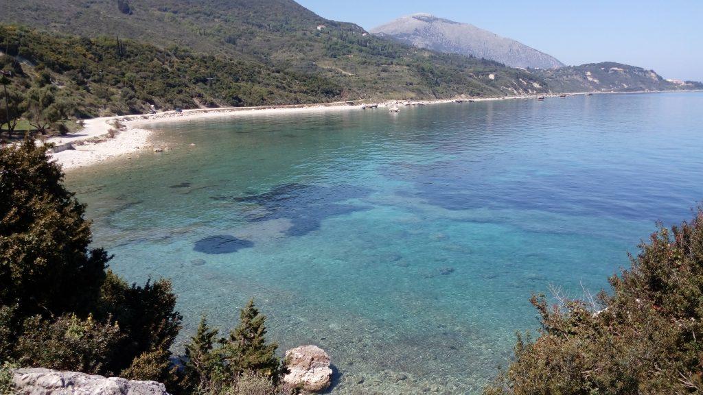 Von Skala mit Motorbootvon nach Poros