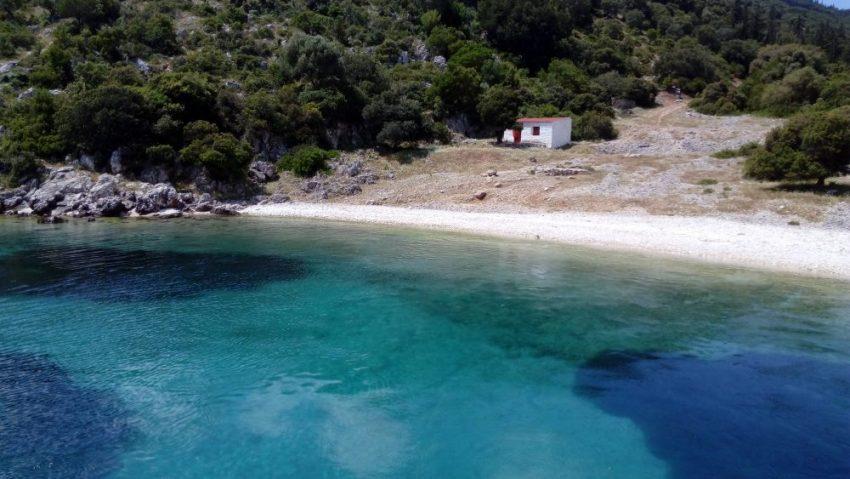 Malerische Bucht südlich von Fiskardo