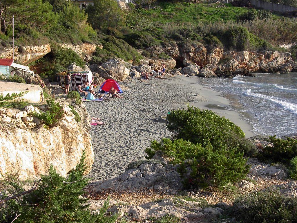 Gradakia Strand in Lassi, Kefalonia, Griechenland