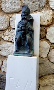 Gott Pan in Melissani, Kefalonia