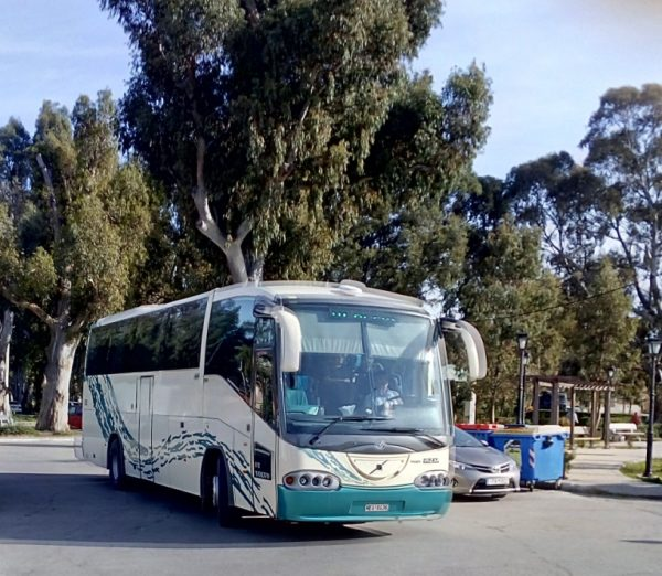Local buses on Kefalonia