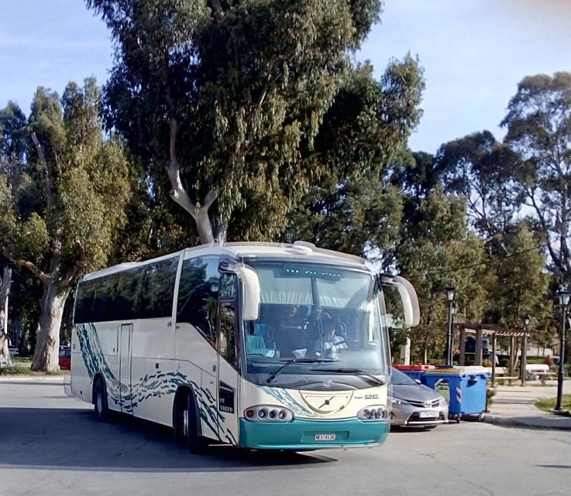 Local buses on Kefalonia