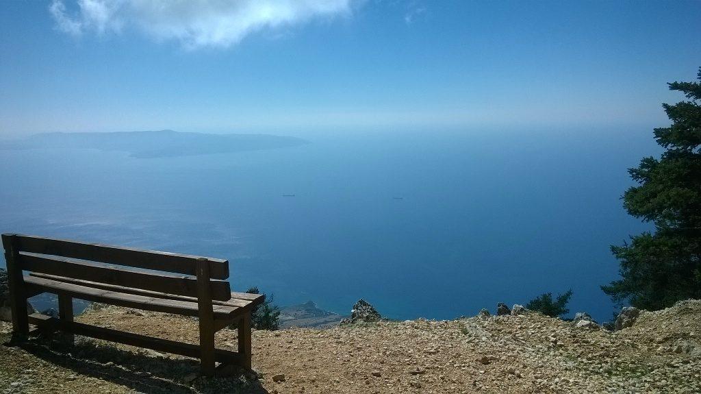 Wandern auf dem Ainos auf Kefalonia
