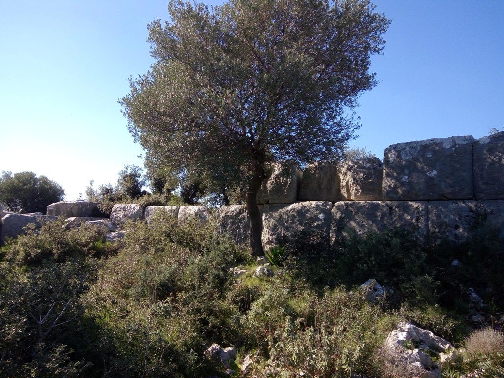 Hike to the cyclopean walls of Krane