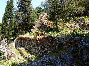 Ruined watermill near Sami