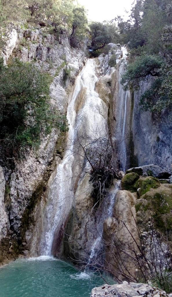 Potisti waterfall Kefalonia