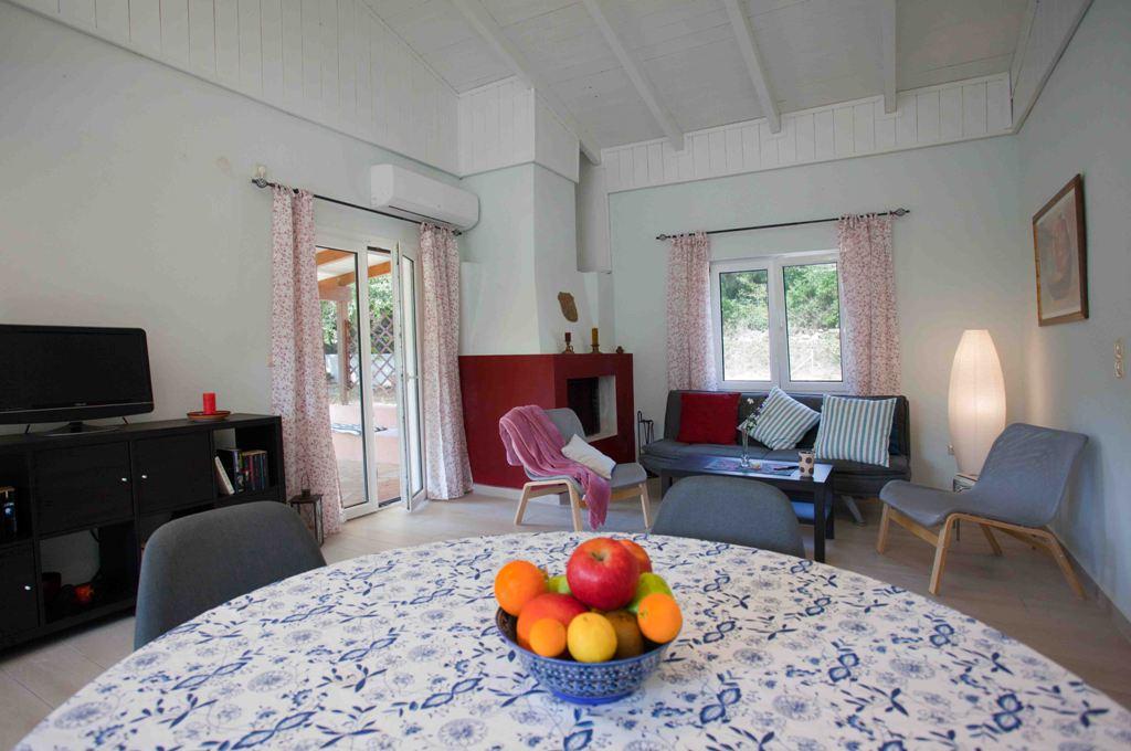 Joleni Cottage Ess-und Wohnbereich