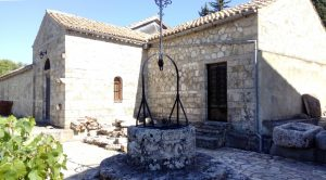 Old monastery church of St Andrews in Kefalonia