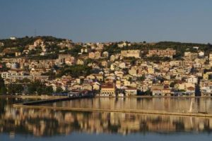 Argostoli and the DeBosset bridge