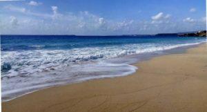 Sandy beach of Avithos