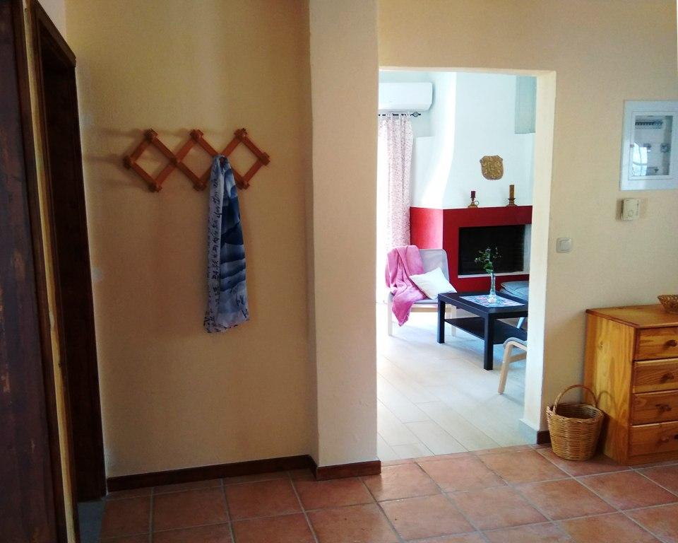 Flur und Wohnzimmer Joleni Cottage