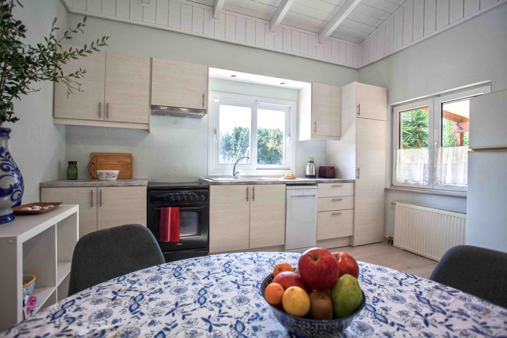 Open plan kitchen of Joleni Cottage