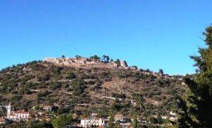 Fortress Kastro near Keramies Kefalonia