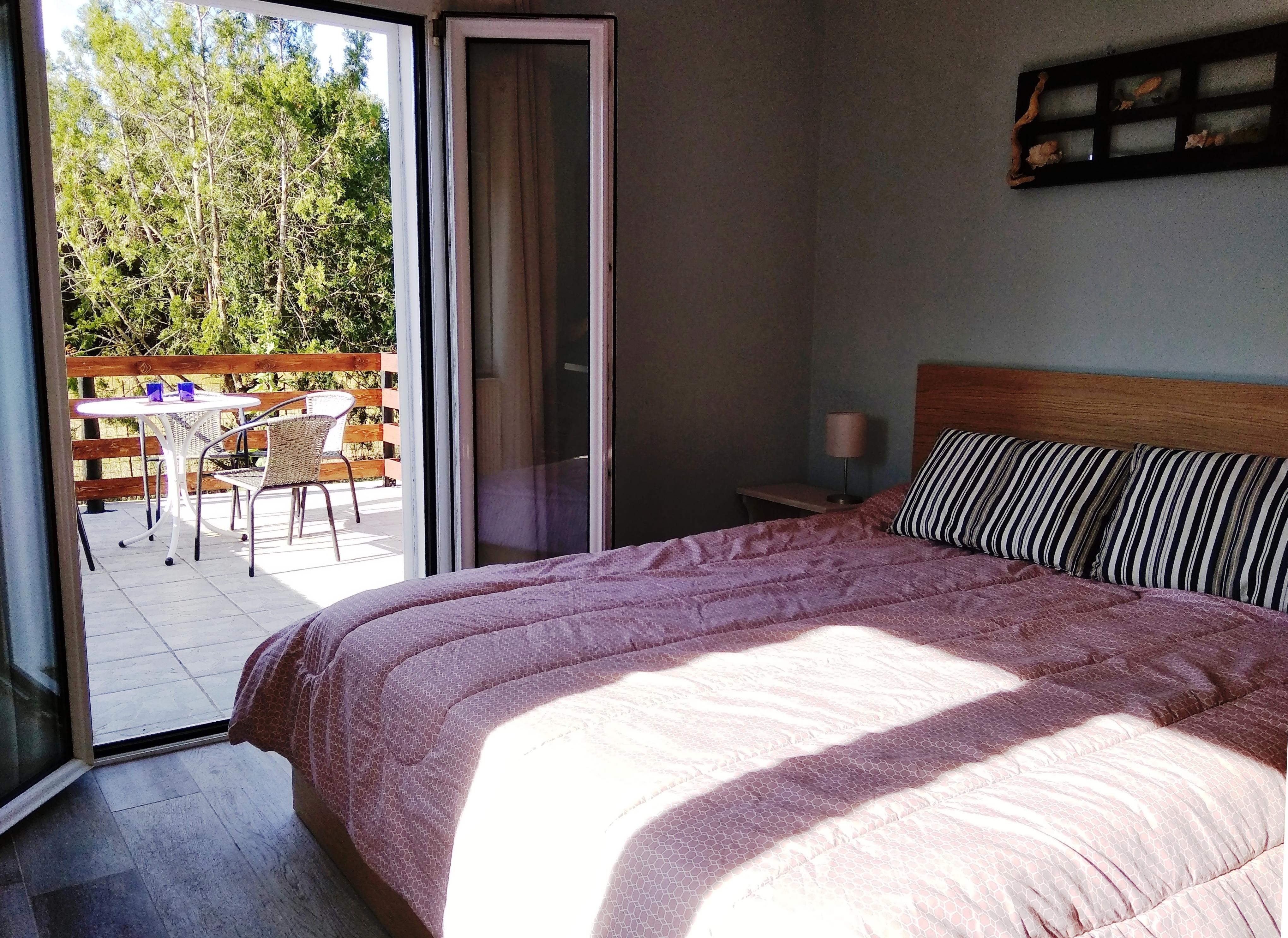 Schlafzimmer Joleni Cottage Kefalonia