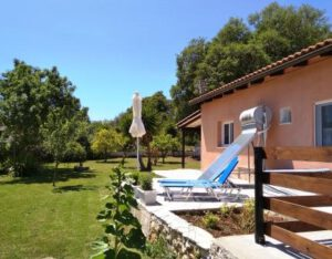 Sun terrace of Joleni Cottage Kefalonia