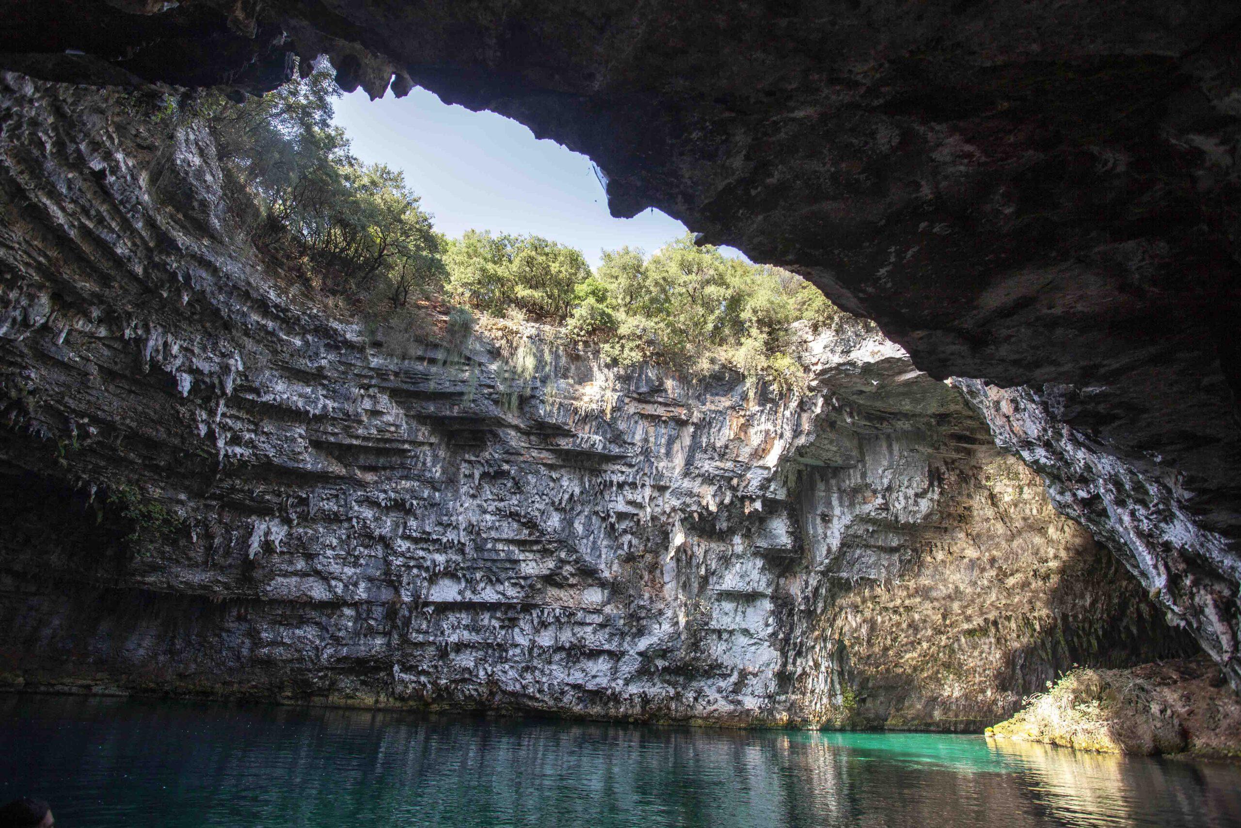 Melissani Höhle und See