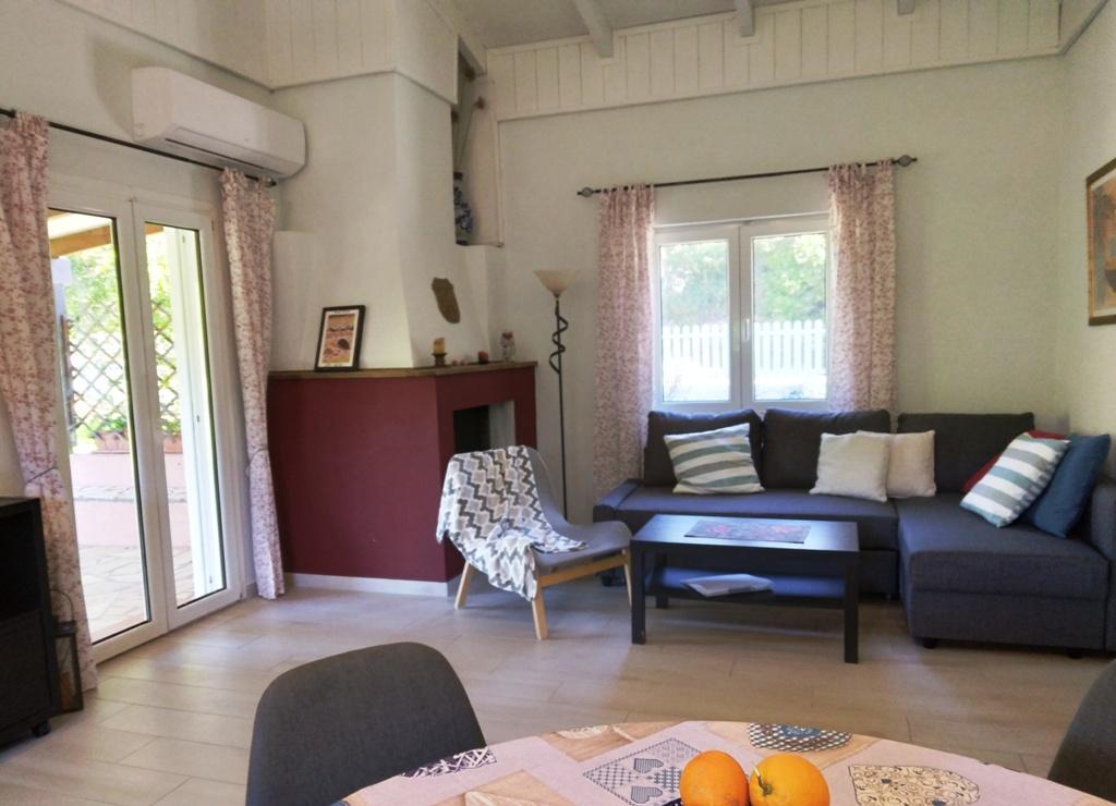 Wohnbereich von Joleni Cottage Kefalonia