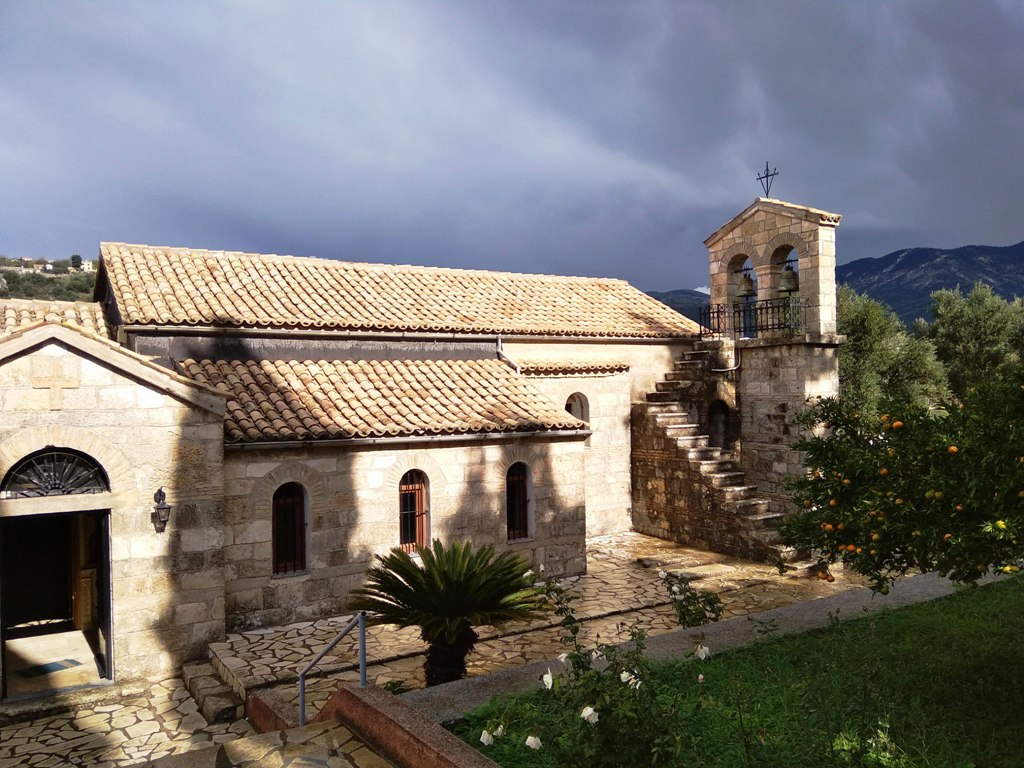 Ag.Andreas monastery church Kefalonia